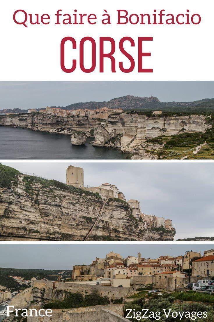 Guide De Voyage En Corse Decouvrez Les Merveilles La Ville Bonifacio Corsica France