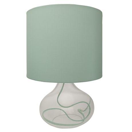 Clarity Table Lamp  Seaspray