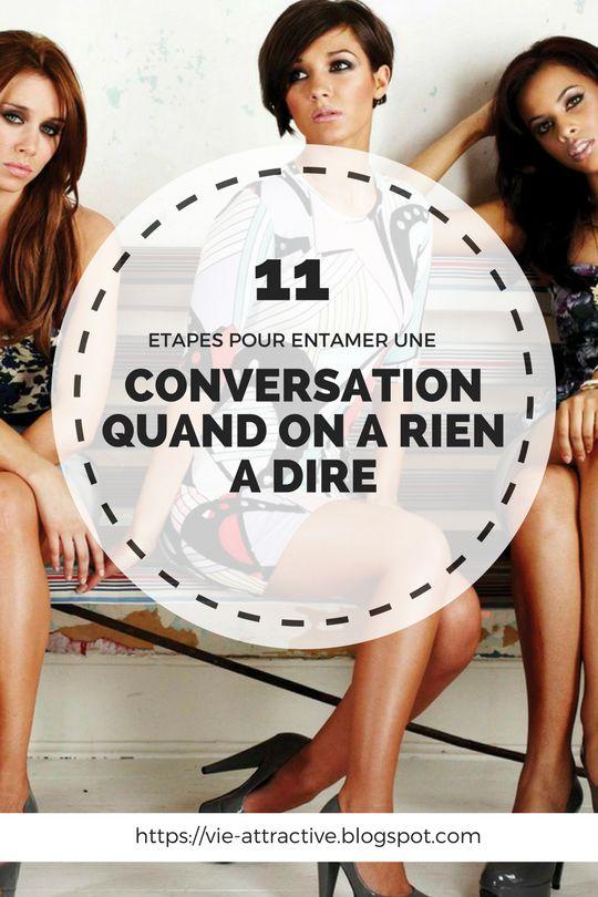 11 étapes pour entamer une conversation quand on a rien à dire | Apprendre à connaître quelqu'un ou rompre un silence pesant peut être stressant lorsqu'on a rien à dire. Voici comment engager la conversation !