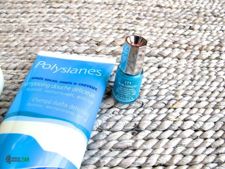 Nuestra recomendación del día es este aftersun de #Polysianes y el esmalte de uñas de #Mavala blue curaçao . Kit perfecto para el sábado después de haber estado expuesto al sol.  Todos estos productos podrás adquirirlos en:   http://www.farmaciauniversal24h.com/tienda-online.html