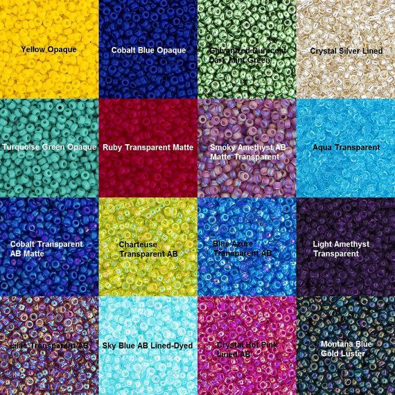 Miyuki Seed Beads  Size 11/0  5g Vials  Various by RosewoodSpring
