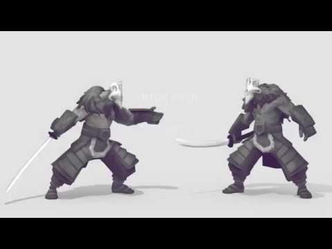Game animation demo reel 2016 - YouTube