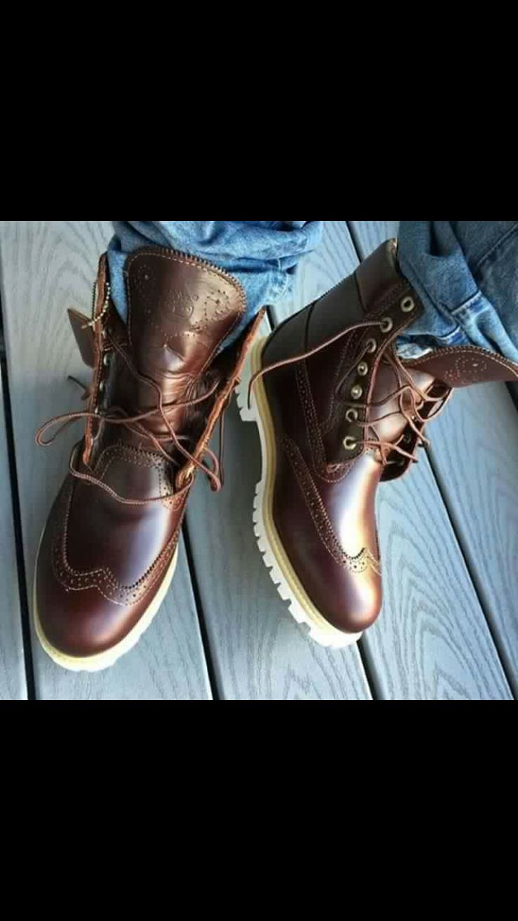 Love these Oxford Timbs for Men
