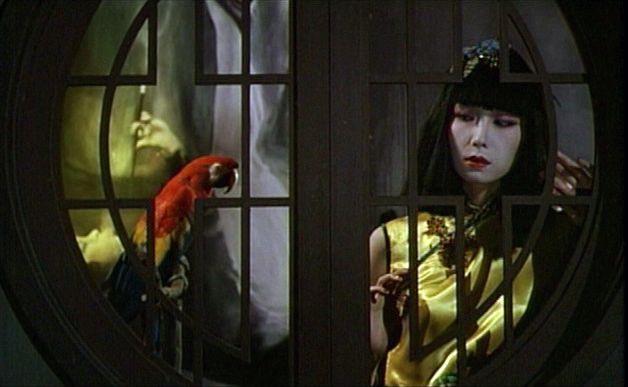 山口小夜子(Sayoko Yamaguchi)「上海異人娼館」- Fruits of Passion, Shuji Terayama(1981)