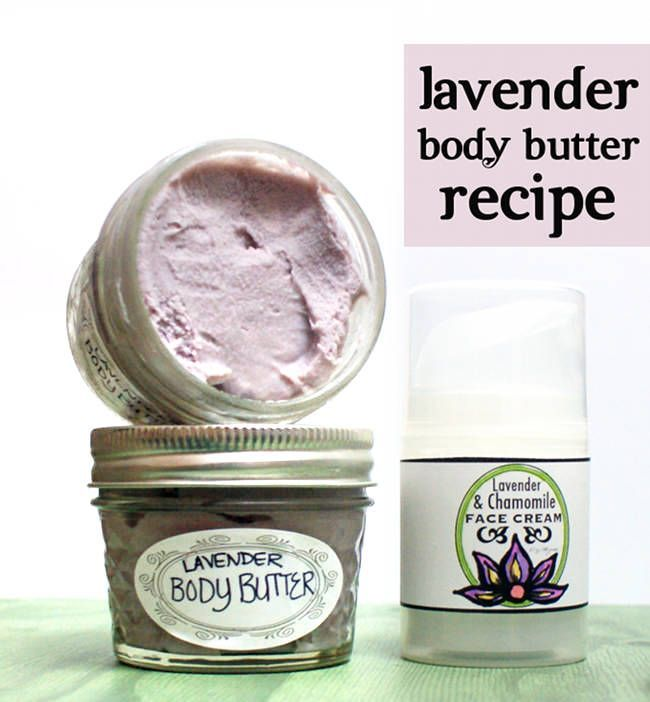 This non-greasy lavender body butter recipe is easy to craft and makes a wonderful homemade gift idea. A touch of natural neem oil is added for  it's anti-viral, anti-bacterial and anti-fungal properties as well as the benefits it offers people suffering from skin conditions like eczema and psoriasis.