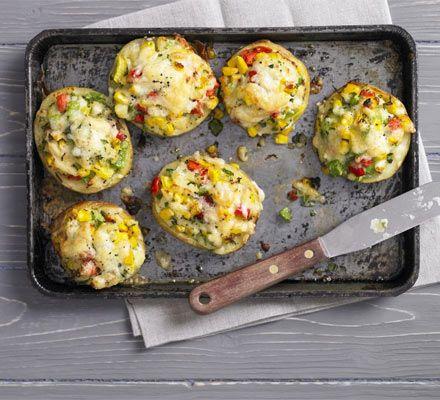Stuffed Jacket Potatoes Recipe on Yummly. @yummly #recipe