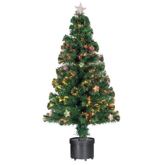 Kunst kerstboom met versiering 90 cm. Groene kunstboom met 24 sterren. De…
