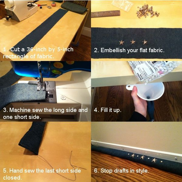 Make Your Own Draft Stopper