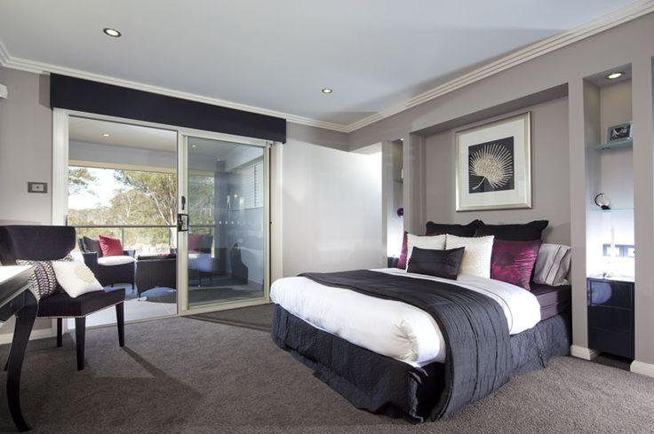Master Bedroom of The Iris 34 Home design display home by Kurmond Homes New Home Builders Sydney NSW - JORDAN SPRINGS, Matcham Street, (off the Northern Road), Cranebrook (Penrith)