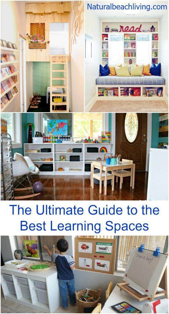 Minimalist Playroom Storage