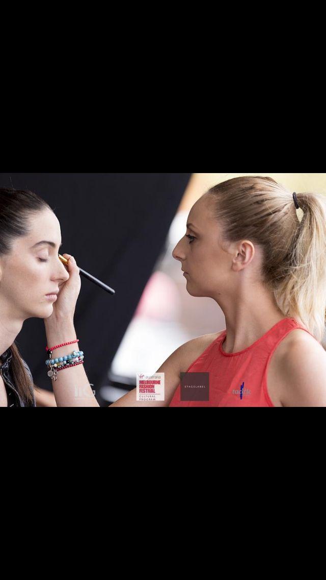 Working away! #makeupbynikkidimatteo #makeup #melbournemakeup #makeupartist #melbournemakeupartist #MUA #FOTD #EOTD #wakeupandmakeup #ilovemakeup #batalash #beauty #hudabeauty #farahcleopatra #makeupjunkie #vegas_nay #makeupartistsworldwide