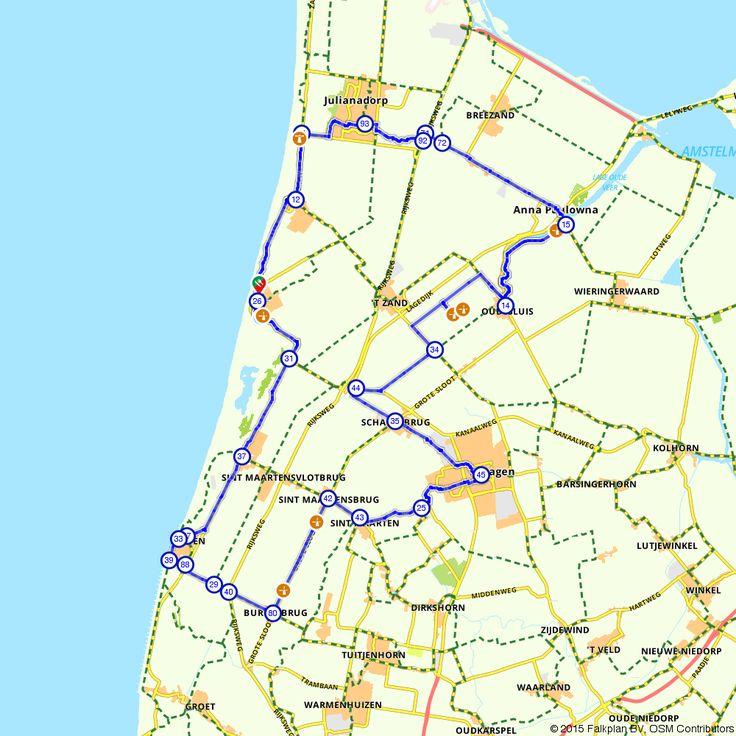 Fietsroute Mooie molens in Noord-Holland voor een gezellig dagje uit. (http://www.route.nl/fietsroute/196046/mooie-molens-in-noord-holland)