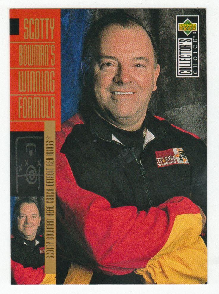 Scotty Bowman # 308 - 1996-97 Upper Deck Collector's Choice Hockey
