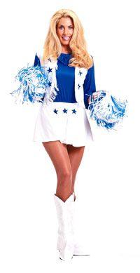 Adult Dallas Cowboys Cheerleaders Costume Cheerleaders Costumes