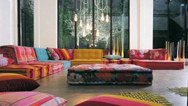De kleurrijke banken van Roche Bobois