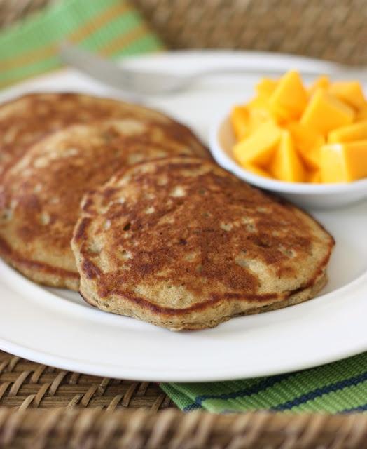 Coconut milk flap jacks | recipes | Pinterest