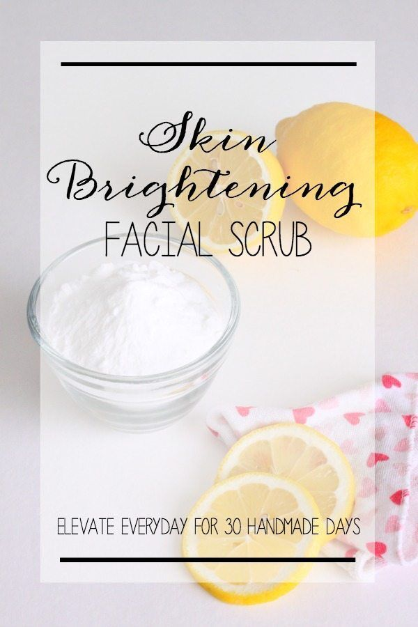 Scrub for Brightening Skin and Clearing Pores