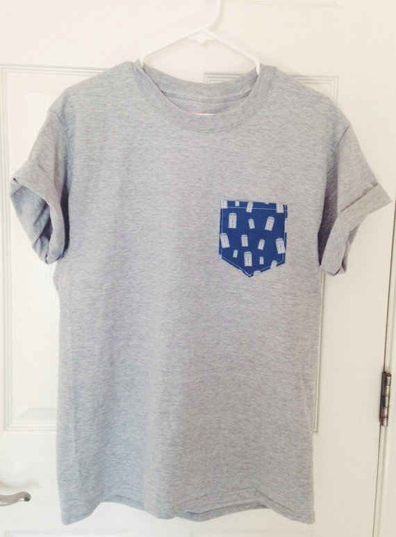"Doctor Who Pocket Tee | 21 Pieces Of ""Doctor Who"" Swag You Didn't Know You Needed"