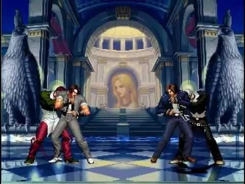 KOF WOJ ~ Classic Kyo Iori VS XIII Kyo Iori