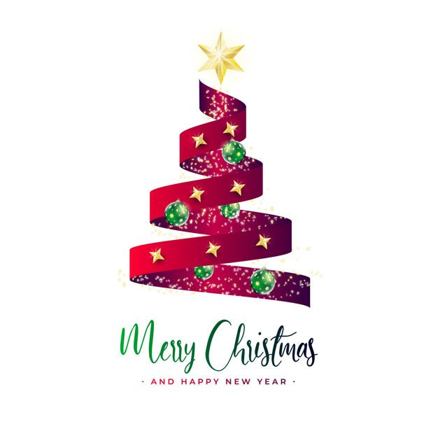 Download Beautiful Christmas Tree Banner With Red Ribbon For Free Beautiful Christmas Trees Merry Christmas And Happy New Year Beautiful Christmas