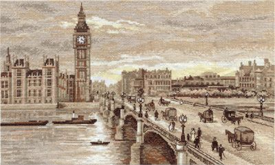 Panna ГМ-1254 «Лондон. Вестминстерский мост»