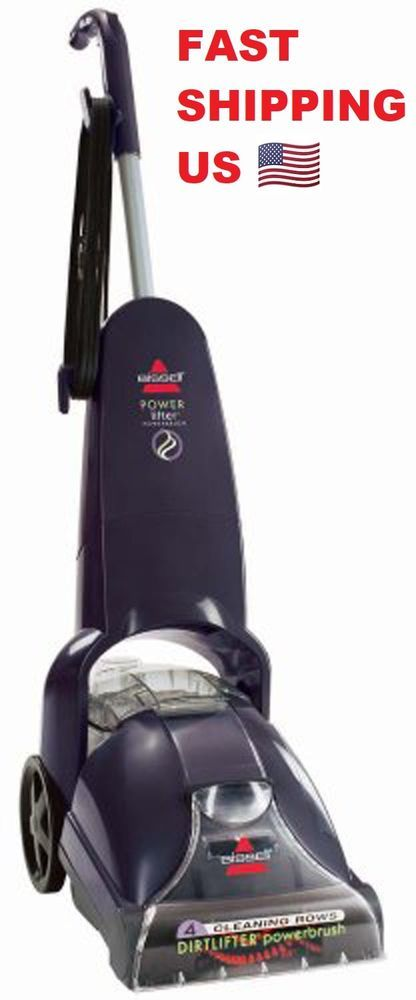 Upright Heat Steam Carpet Cleaner Shampooer Home Powerful Deep Cl..✓️FAST SHIP!! #Bissell