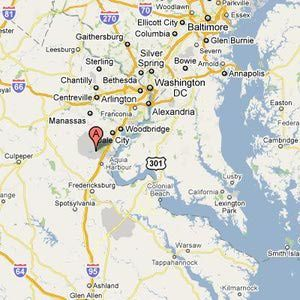 Installation Overview --Marine Corps Base Quantico, Virginia: Location/Driving Directions