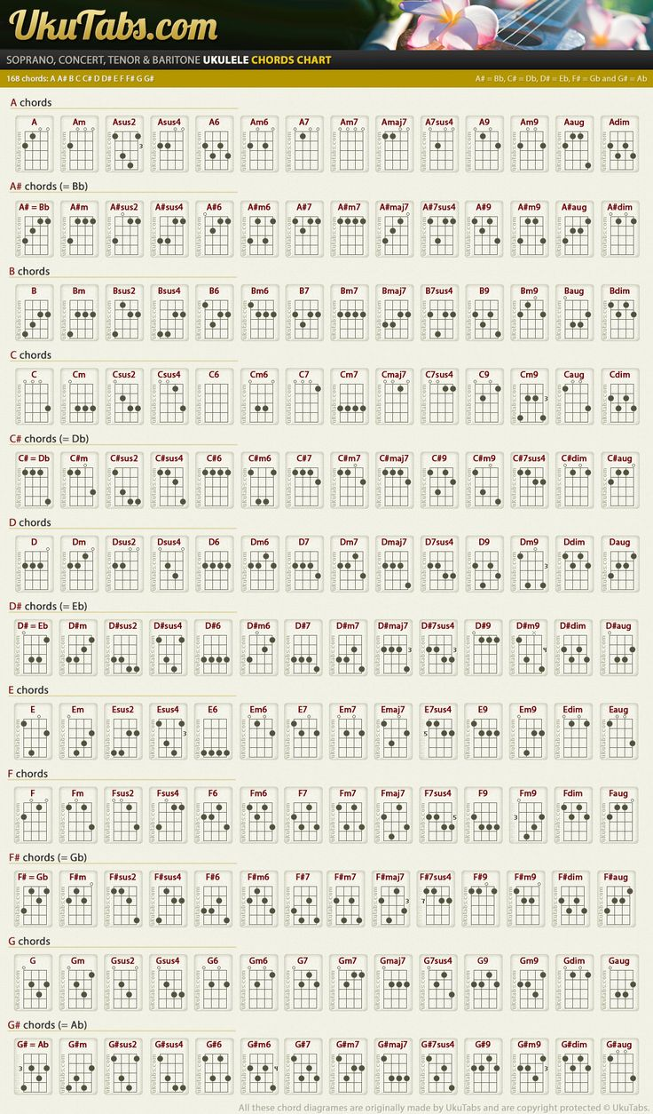 81 best musik images on pinterest guitar chord guitar and high this chart is one of the main reasons i have so much variety in my chording every ukulele player should see this chart hexwebz Images