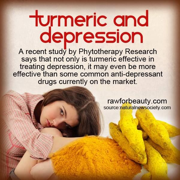 How to heal your Depression: Say bye-bye to prescription drugs & hello to Tumeric!