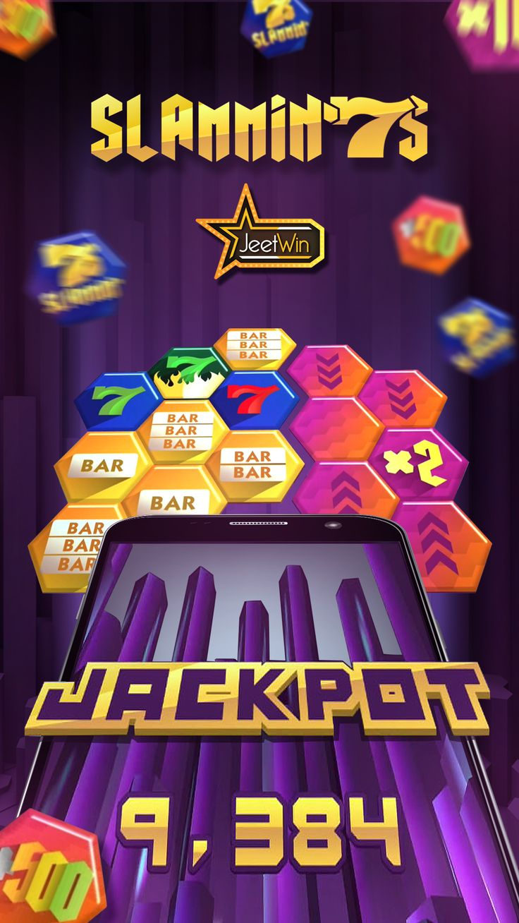 Play the Slammin7s Online Slot Game and win Jackpot, on