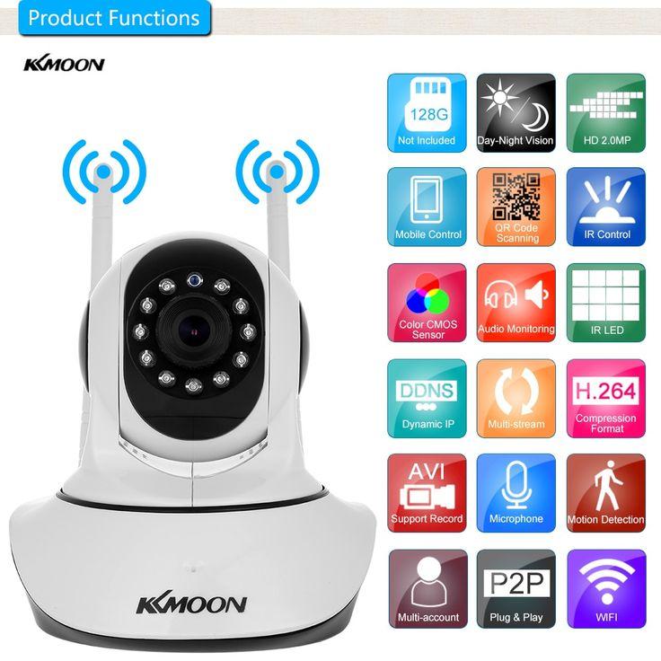 KKmoon <b>IP Camera</b> 720P/<b>1080P HD Wireless</b> Wifi Camera Network ...