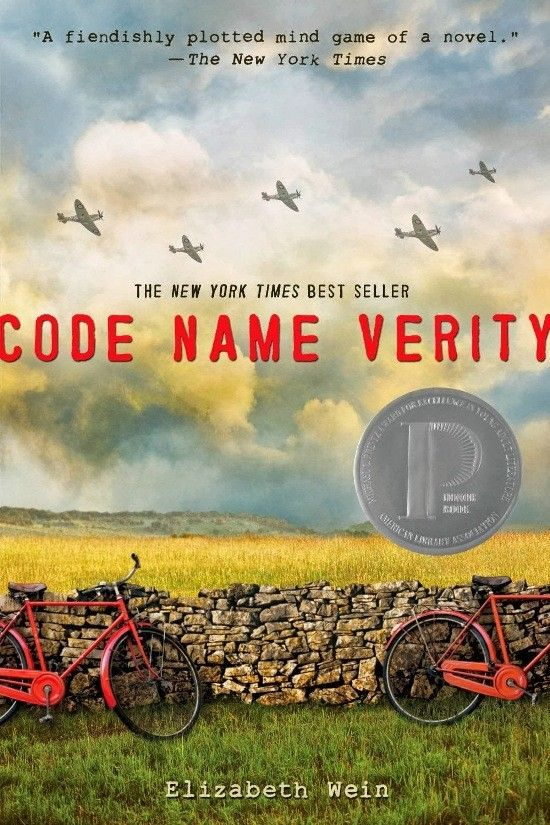 """Code Name Verity : I am reading this book right now. I love how everything comes together when you read the second part and you're like """" Oh that's what they did? I feel stupid."""""""