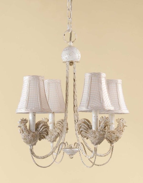 8 best rooster lamp images on pinterest country french for French country kitchen chandelier