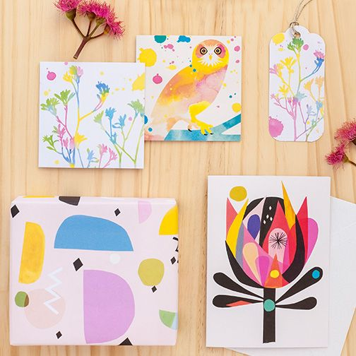 Cards, wrapping paper and gift tags by Earth Greetings #recycled #earthfriendlygreetingcards #australianmadegreetingcards #ecofriendlycards #inaluxe