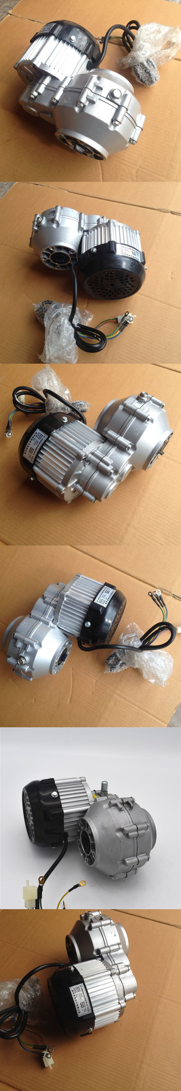 Driven by rear axle permanent magnet DC brushless motor BM1418HQF(BLDC)500W48V