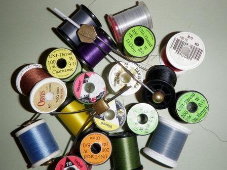 Fly Tying Thread Explained - John Wood (http://)