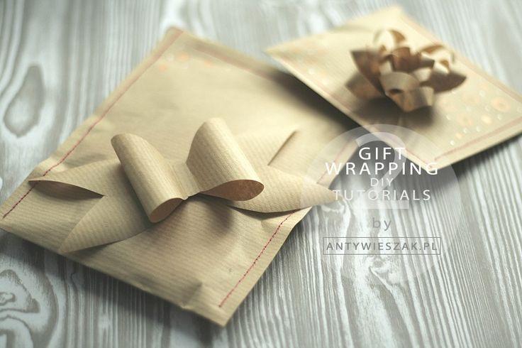 [PAKOWANIE PREZENTÓW] Wrapping nie jest trudny :) I na pewno nie musi kosztować 20 zł!