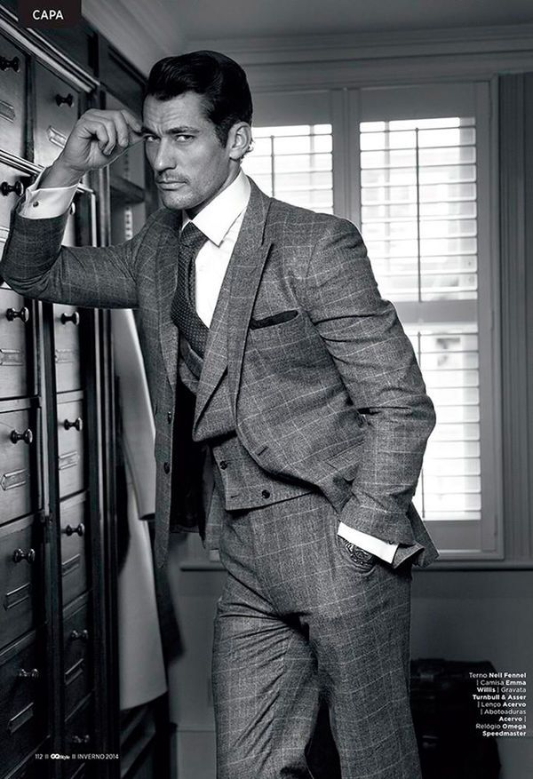 David Gandy Stars in this Elegant Feature for GQ Style Brazil #GQ trendhunter.com