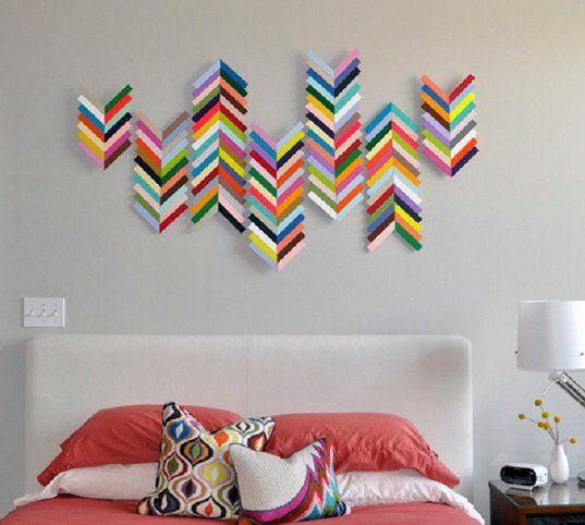 Cool Creative DIY Wall Art Ideas |