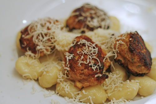 Almost Ethereal Chicken Meatballs | www.sarahscucinabella.com | # ...
