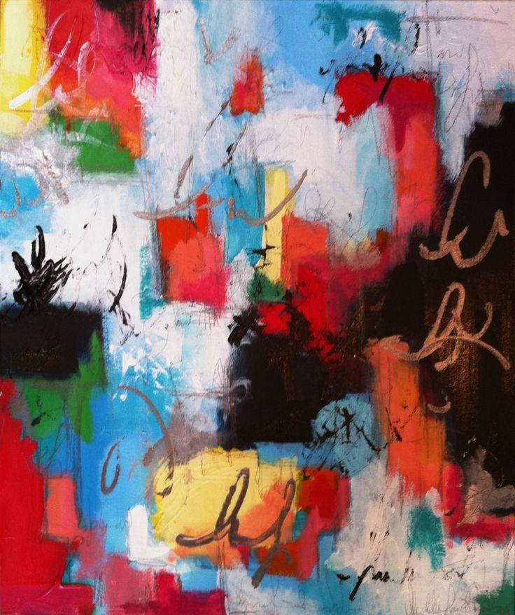 Painting Through Andre's Bohemian Boulevard |