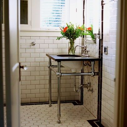 1920s bathroom design inspiration bathrooms pinterest for Bathroom decor inspiration