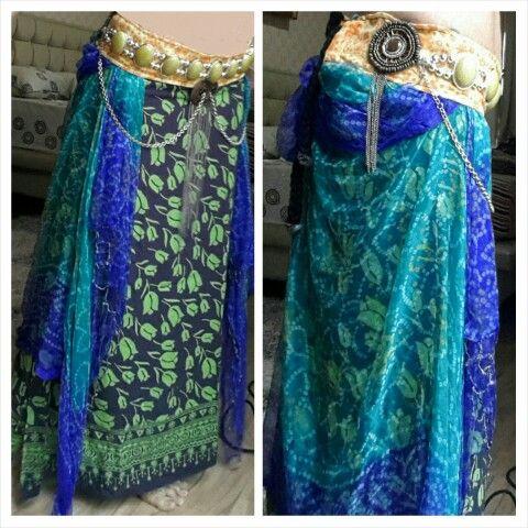 My creation : Skirt and Belt