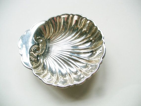 Birks Sterling Silver Open Clam Shell Dishes