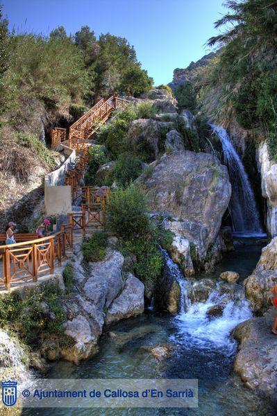 Fuentes Del Algar waterfalls, Callosa de Ensarria, Alicante - Google Search