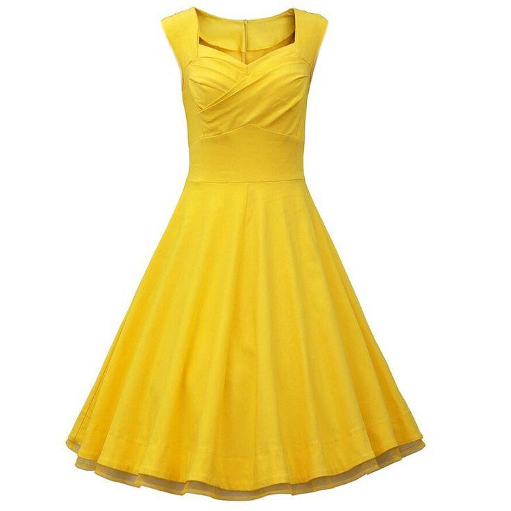 Fashion 50's summer women vintage Bow V-neck dress Audrey Hepburn lady style Picnic rockabilly dresses LSQ-60-57