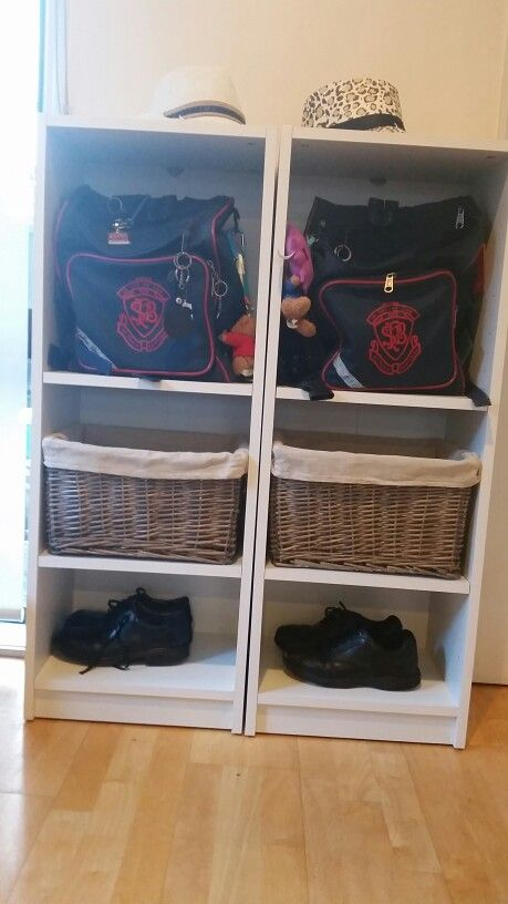 School bag storage sorted!                              …