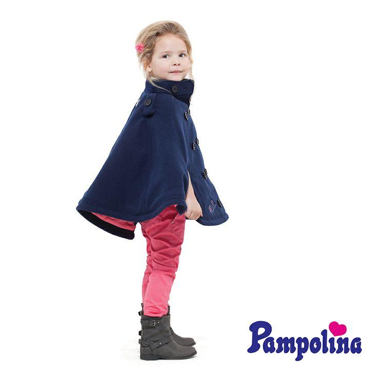 Pampolina pelerinini de giyince tam prenses olmuş değil mi? :)