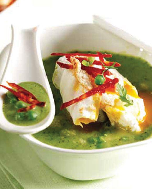 Chorizo, Recetas and Pea soup on Pinterest
