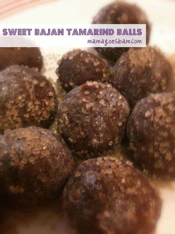 sweet tamarind balls..tamarind is the original sweet and sour! mmm my mouth is watering just looking at them.